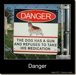 danger dog