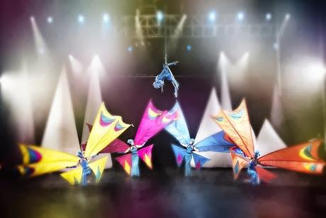 Hire a Cirque du Soliel style show