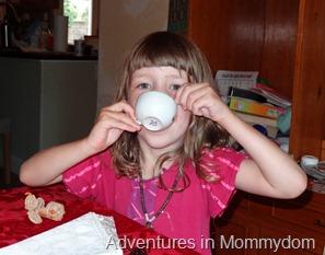 tea party for kiddos