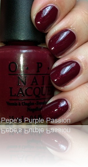 OPI Pepe's Purple  Passion