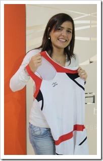 La marca de ropa deportiva NAFFTA ficha a Xisela Aranda, nº 1 del Squash en España.