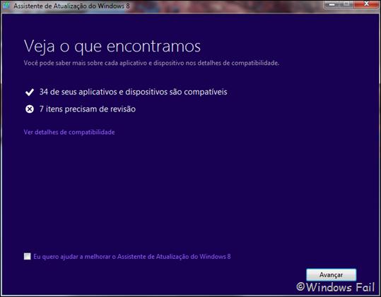 Aplicativos e dispositivos compatíveis com o Windows 8