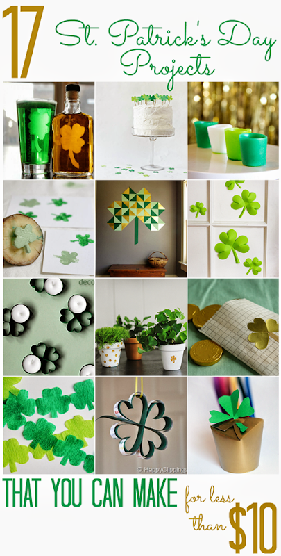 17 St. Patrick's Day Projects (that you can make for less that $10)