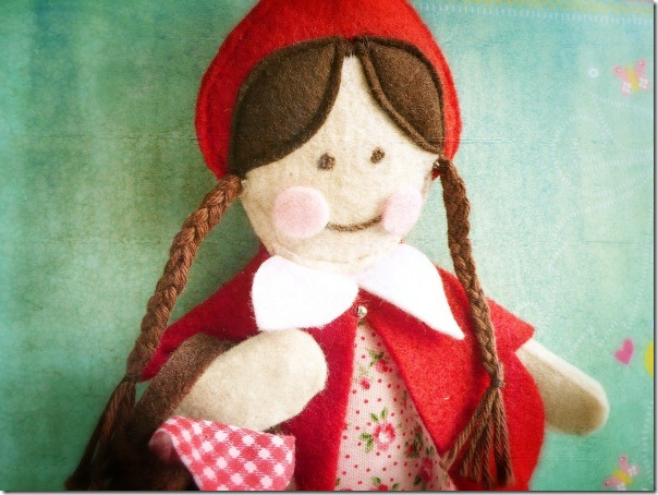 cafe creativo - Little Red Riding Hood Doll (5)