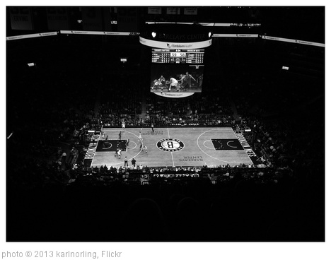 'Brooklyn Nets game at Barclays Center' photo (c) 2013, karlnorling - license: http://creativecommons.org/licenses/by/2.0/