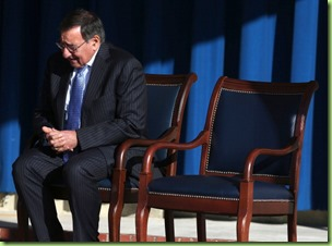 panetta and the empty chair