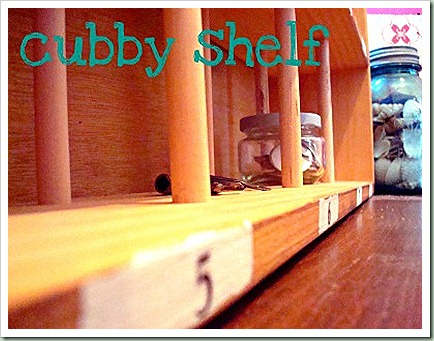 northern cottage shelf cubby