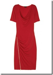 Red Wool Joseph Dress