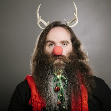 Hipster Beard for Christmas 4 - Copia
