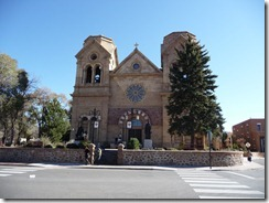 Santa Fe The Catheral of St. Francis Of Assisi