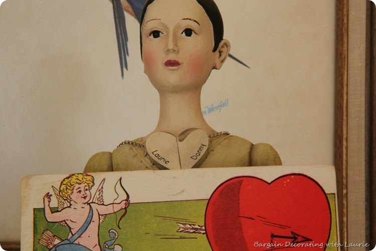 Vintage Valentine Display 11