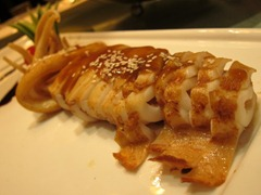 Braised squid with soy sauce