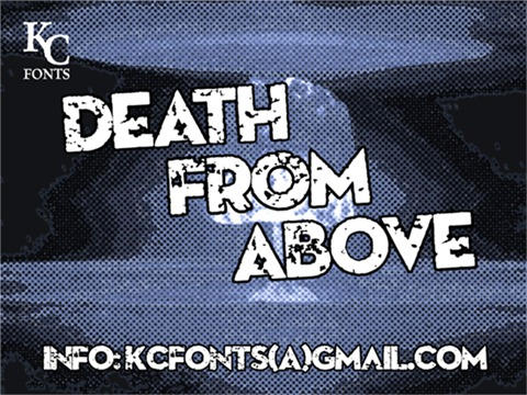 19-Death-From-Above-font