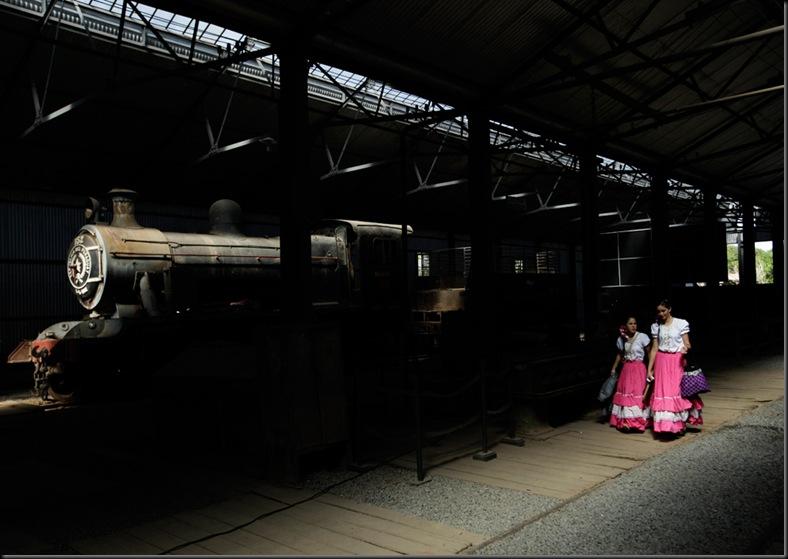 APTOPIX Paraguay Old Railway