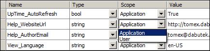 Setting Designer