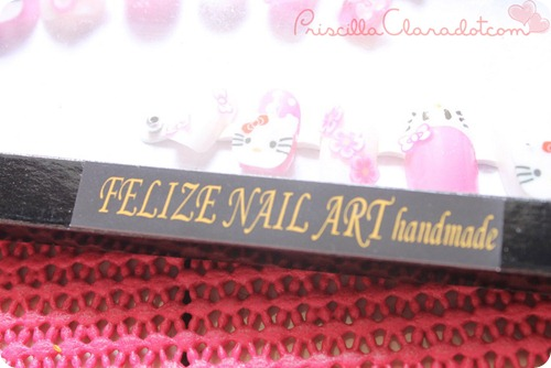 Priscilla review Felize nail art 11