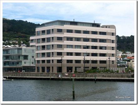 Herd St Art Deco Post and Telegraph building. Now upmarket apartments.