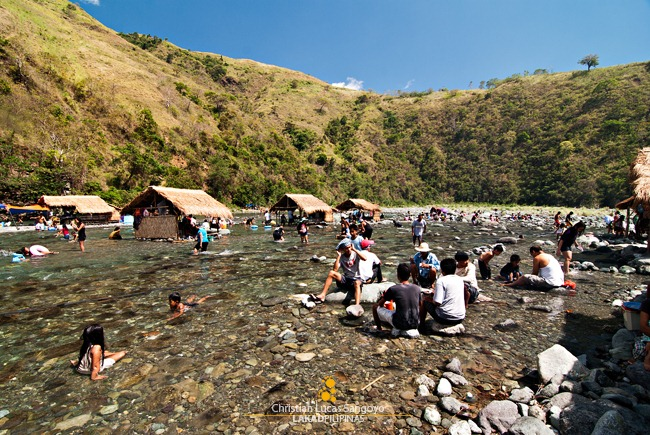 A Cool Dip at Dupinga River in Gabaldon