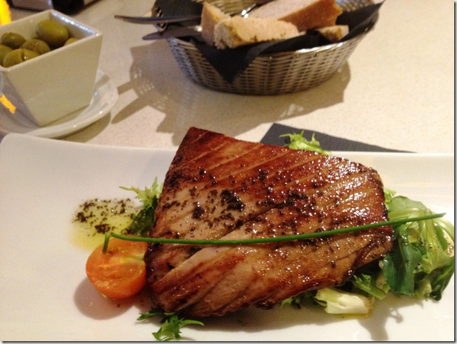 tuna belly with soy