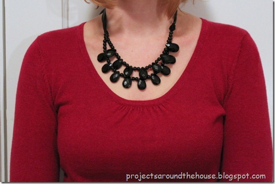 DIY Anthropologie Inspired Knockoff necklace