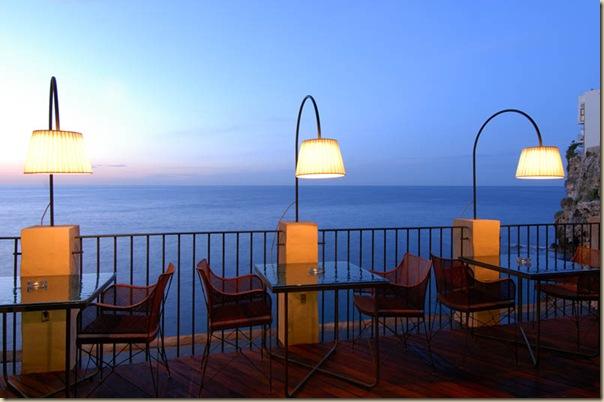 Restaurant de l'hôtel Grotta Palazzese (11)