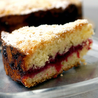 Cranberry Vanilla Coffee Cake