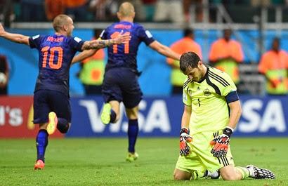 HOLANDA 5-1 ESPAÑA