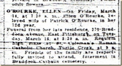 Ellen O'Rourke Obit 14 March 1924 - Copy