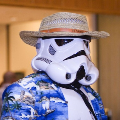 Storm Trooper on Holidays