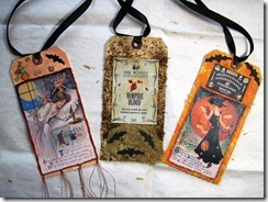 Halloween Tags Three