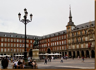 Madrid plaza major 1