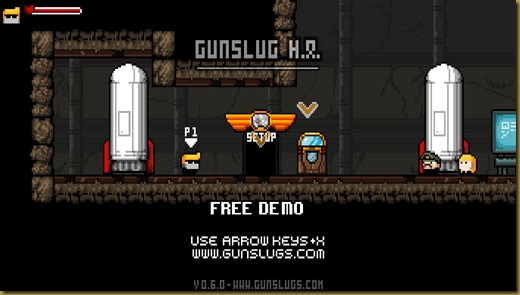 Gunslugs 2はじめ