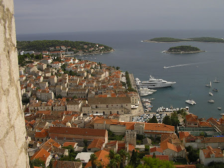 Sights of Croatia: Old town of Hvar