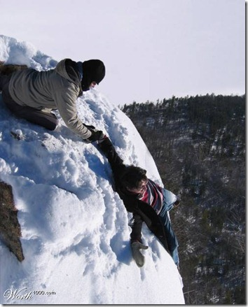 snow death
