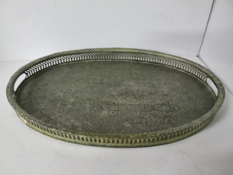 Oval Decorative Tray