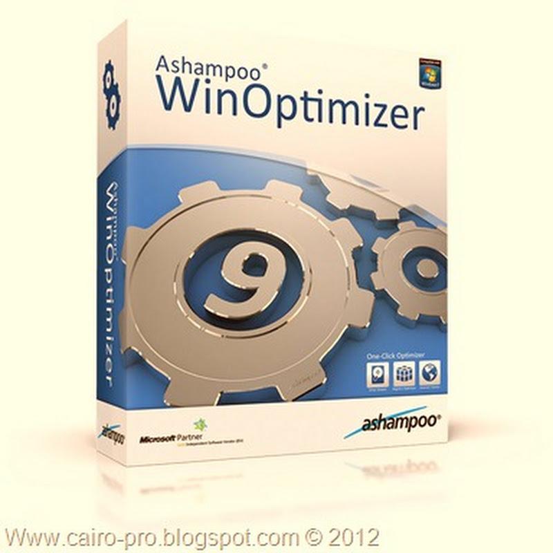 Free Download Ashampoo WinOptimizer 9.02.00 تحميل برنامج اشامبو لتسريع الكمبيوتر