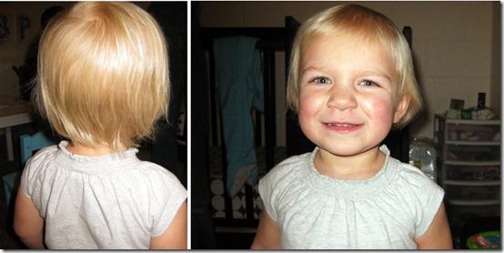 Hailey's 1st Haircut