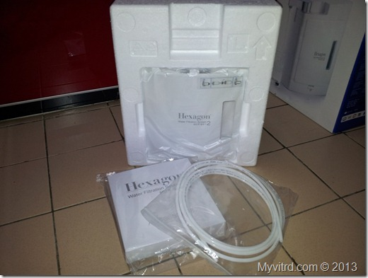 Hexagon Water Filter 2