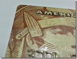 BDO American Express credit card - repaired (front)