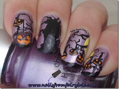 creepy halloween pumpkin tree 3