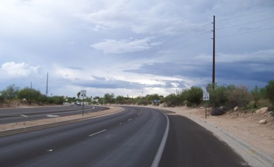 Tucson Foothills Bike Lane