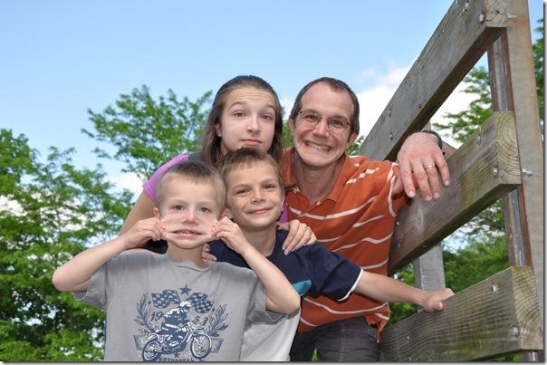 Flat Luke and Family