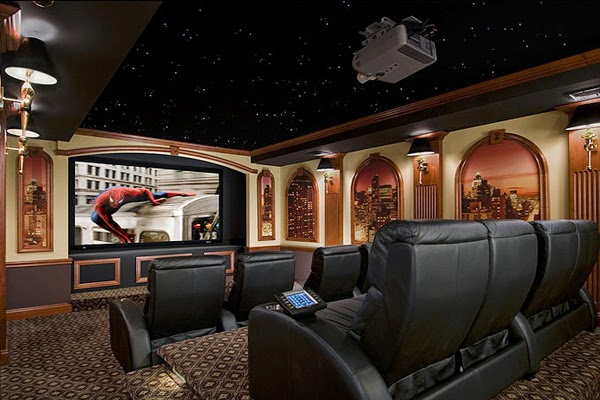 Home Theater Decorations1 Home Theater Decor