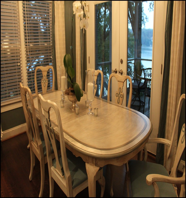 painted dining table 1