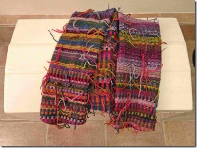 Bagside med trådender, web