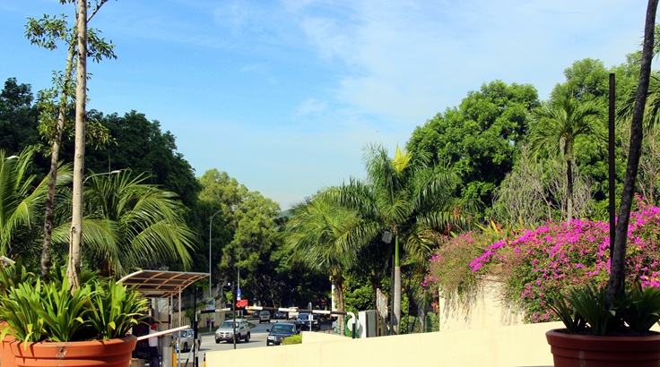 stadsbilder malaysia