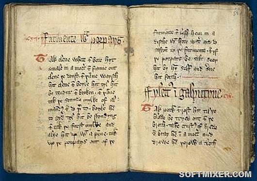 средневековая-книга