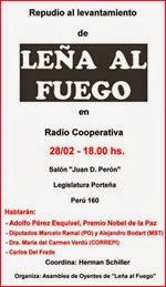 28 - 02 - 14 - Repudio Levantamiento Leña al Fuego 2