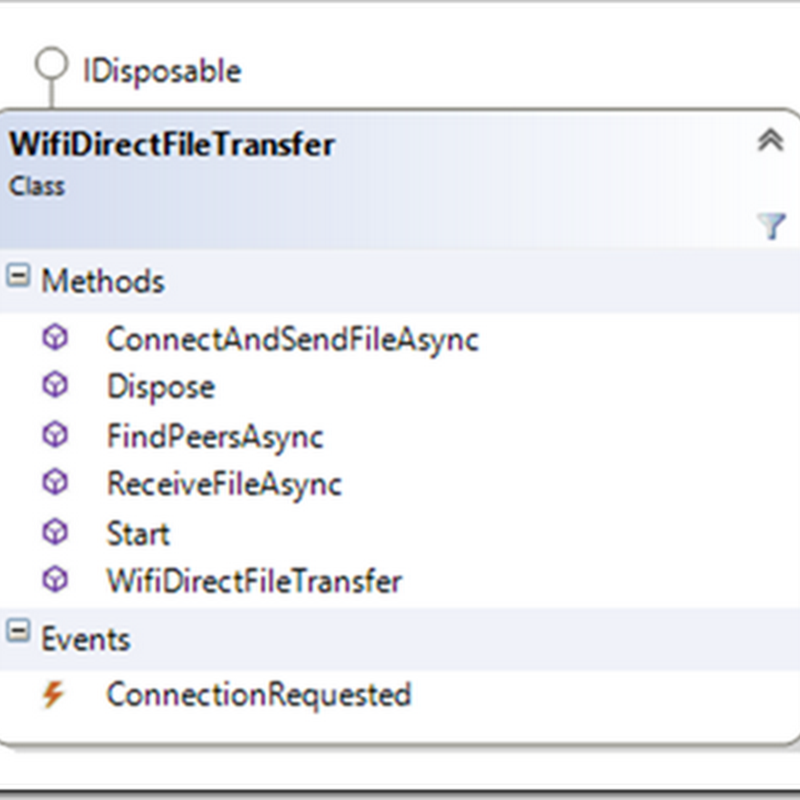 "Getting your app's ""close"", using Windows 8.1/WinRT and Wifi-Direct and Proximity API's"