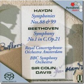 Beethoven 1 Colin Davis BBC Pentatone